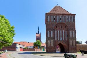 Anklamer Tor, Usedom, Mecklenburg-Western Pomerania, Germany