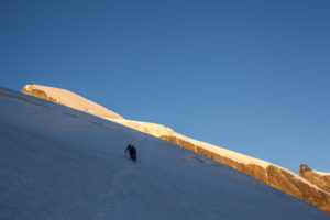 2 people, approach to the summit, Allalinhorn, trekking, climb, approach, sunrise, Summit, loneliness, silence, Glacier, lonely, silence, balanced, destination, success