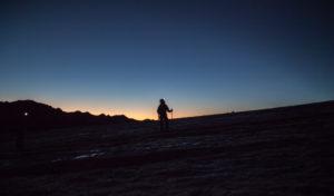 Mountaineer, silhouettes at sunrise, mountain landscape, 4000m, adventure, trekking, Switzerland, outdoors, Zinal, series Britanniahütte, sport, cold, sunrise,