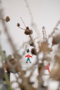 Decoration, Christmas Decorations, Glass Ball, British Soldier,