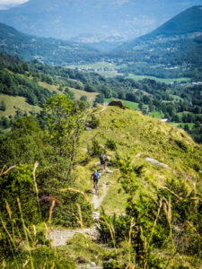 Mountain biking in the French High Pyrenees