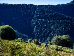 Mountainbiken in den französischen Hochpyrenäen