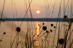 Sundown, Lelång Lake, Dalsland, Sweden