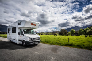 New Zealand photo tour Britz Camper