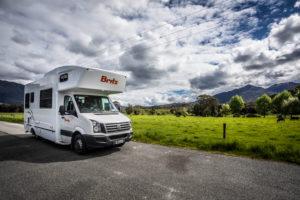 New Zealand photo tour Britz Camper