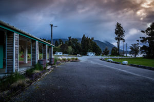 Iveagh Bay Campground, Lake Brunner, South Island New Zealand