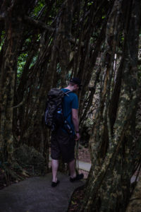 Hikers in the Kenting National Forest Recreation Area