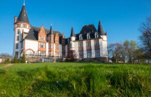 Deutschland, Mecklenburg-Vorpommern, Schloss Klink (Hotel) an der Müritz