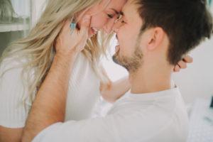 Junges Paar verliebt, Profil
