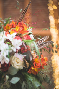 Bouquet at Indian wedding, decoration