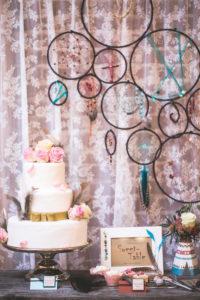 Indian wedding, wedding cake and decoration