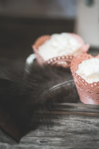 Small tartlets in a wedding, detail