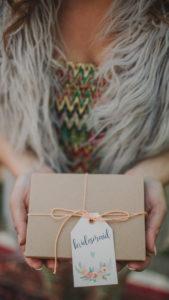 Alternative wedding, woman hands present, medium close-up, detail