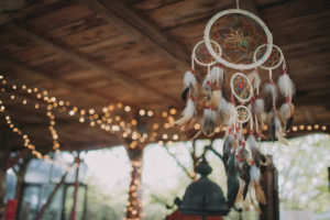 Alternative wedding, decoration, dream catcher,