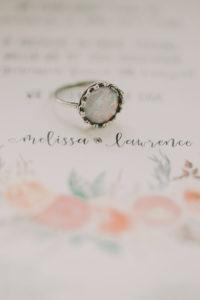 Alternative Hochzeit, Einladung, Ring