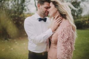 Brautpaar, Berührung, Porträt, Detail,