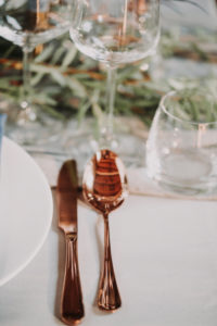 Wedding, table, set, detail, cutlery,