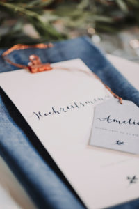 Wedding, place card, menu card, detail, blur,