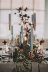 Wedding, table, laid, detail, blur,