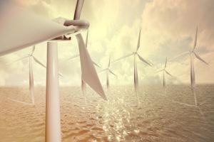 Alternative energy, wind park, water,