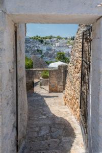 Alberobello, Provinz Bari, Salento, Apulien, Italien, Europa.
