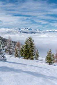 Percha, Provinz Bozen, Südtirol, Italien.