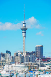 Auckland Skyline, Auckland, North Island, New Zealand