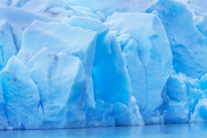 Eisbergdetail, Lago Gray-Gletscher, Staatsangehöriger Torres Del Paine, Chile, Südamerika