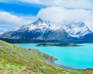 Torres del Paine und See Nordenskjold, Nationalpark Torres del Paine, Patagonia, Chile, Südamerika