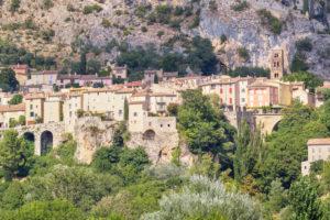 Moustiers Sainte Marie, Alpes de Haute Provence, Provence, France, Europe