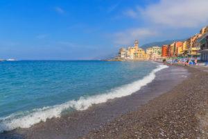 The picturesque fishing village of Camogli, Camogli, Liguria, Italy, Europe