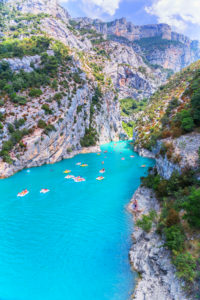 Lake of Sainte-Croix, Gorges du Verdon, Alpes-de-Haute Provence, Provence, France, Europe