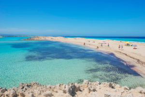Ses Illetes beach, Formentera, Balearic Islands, Spain