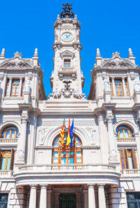 City hall, Valencia, Comunidad Autonoma de Valencia, Spain, Europe
