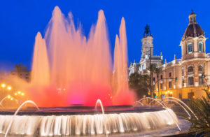 Magic Fountain, Valencia, Comunidad Autonoma de Valencia, Spain