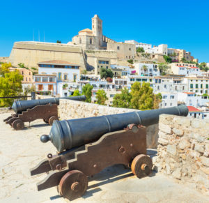 Ibiza Old Town (Dalt Vila), Ibiza town, Ibiza, Balearic Islands, Spain, Europe
