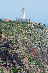 Sa Mola lighthouse, Formentera, Balearic Islands, Spain
