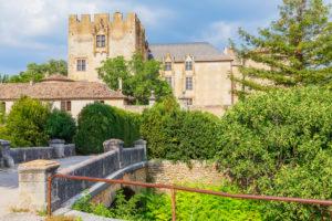 Castle, Allemagne en Provence, Alpes de Haute Provence, France, Europe,