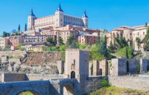 Toledo cityscape, Toledo, Castilla La Mancha, Spain