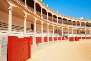Bullring, Ronda, Malaga Province, Andalusia, Spain, Europe