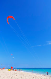 Kiteboarding, Tarifa, Costa de la Luz, Cadiz Province, Andalucia (Andalusia), Spain, Europe