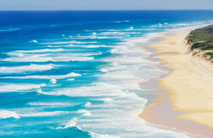 Seventy Five Mile Beach, Fraser Island, Queensland, Australia