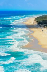 Seventy Five Mile Beach, Fraser Island, Queensland, Australia