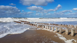 rough sea in Holland
