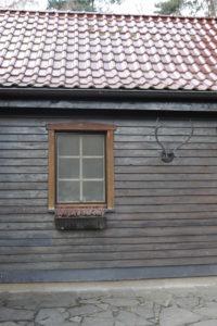 Hunting lodge, detail,