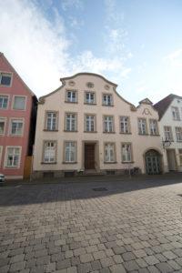 Deutschland, Nordrhein-Westfalen, Warendorf, Bürgerhaus des 18. Jahrhunderts, Spätbarock