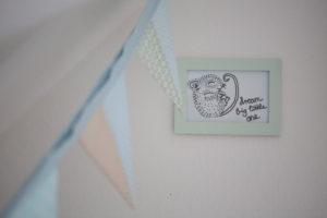 Interior decoration nursery, detail