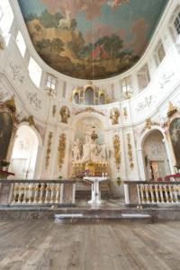 Kapelle im Jagdschloss Hubertusburg, Wermsdorf, Sachsen, Deutschland