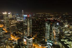 Blick vom Maintower auf Frankfurt