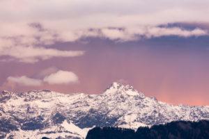 foehn mood in the Churer Rhine Valley
